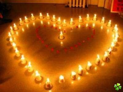rituel avec des bougies
